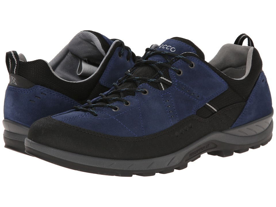 ECCO Sport - Yura (Black/True Navy) Men's Lace up casual Shoes
