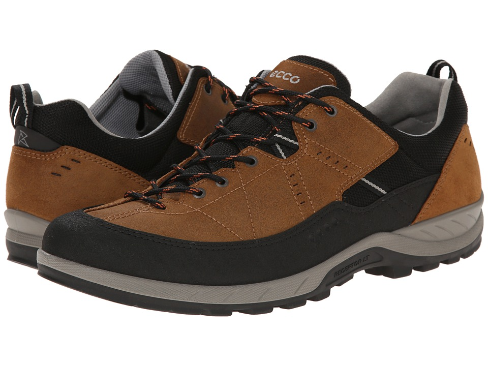 ECCO Sport - Yura (Black/Camel) Men's Lace up casual Shoes