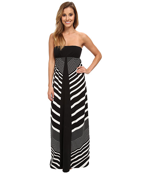 Rip Curl - Next In Line Maxi Dress (Black) Women's Dress
