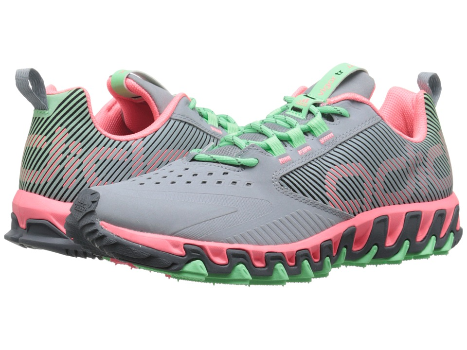 adidas Running - Vigor 5 TR (Light Grey/Light Flash Red/Light Flash Green) Women