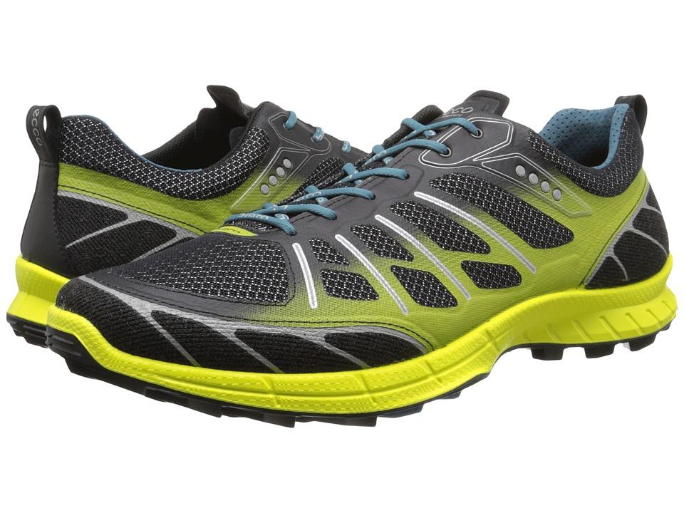 ECCO Sport - Biom Trail Sport (Black/Titanium/Sulphur) Men