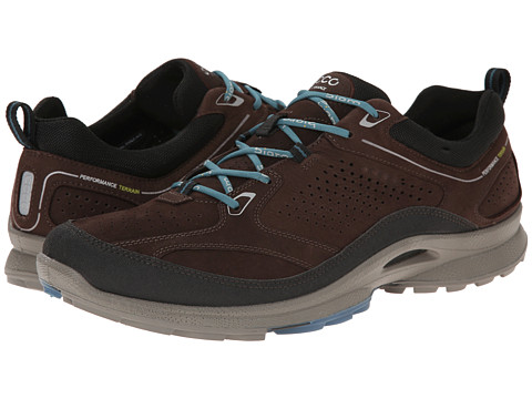 ECCO Sport - Biom Ultra Quest Plus (Black/Mocha/Petrol) Men's Shoes