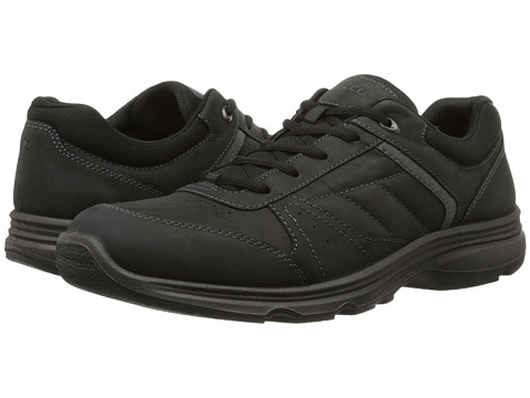 ECCO Sport - Light IV (Black/Black/Dark Shadow) Men's Walking Shoes