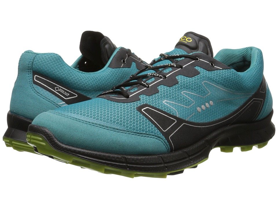 ECCO Sport - Biom Trail FL GTX (Pagoda Blue/Pagoda Blue/Herbal) Men's Lace up casual Shoes