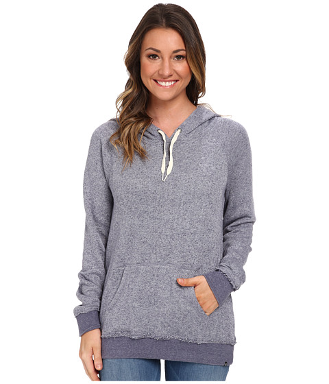 Volcom - Lived In Pullover Hoodie (Vintage Navy) Women's Sweatshirt