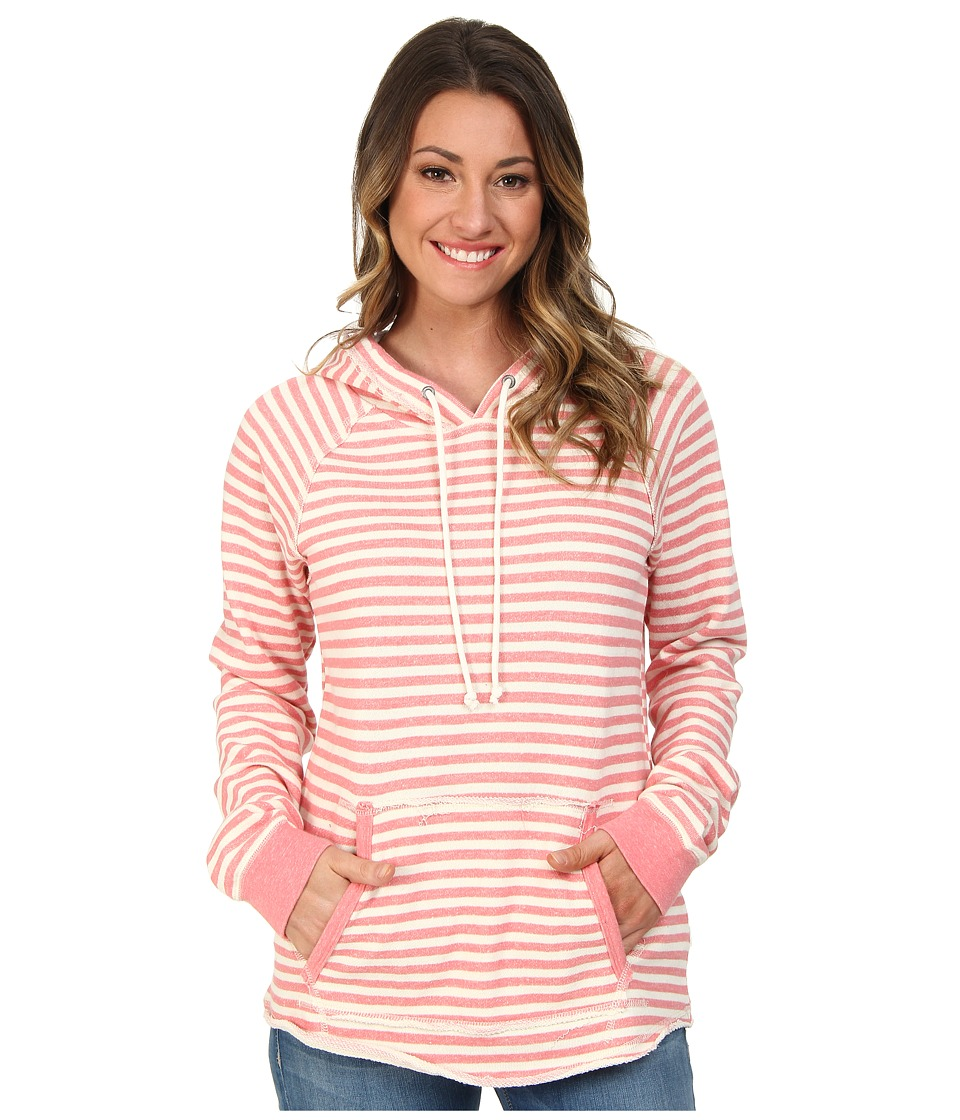 Volcom - Front Page Pullover Hoodie (Electric Coral) Women