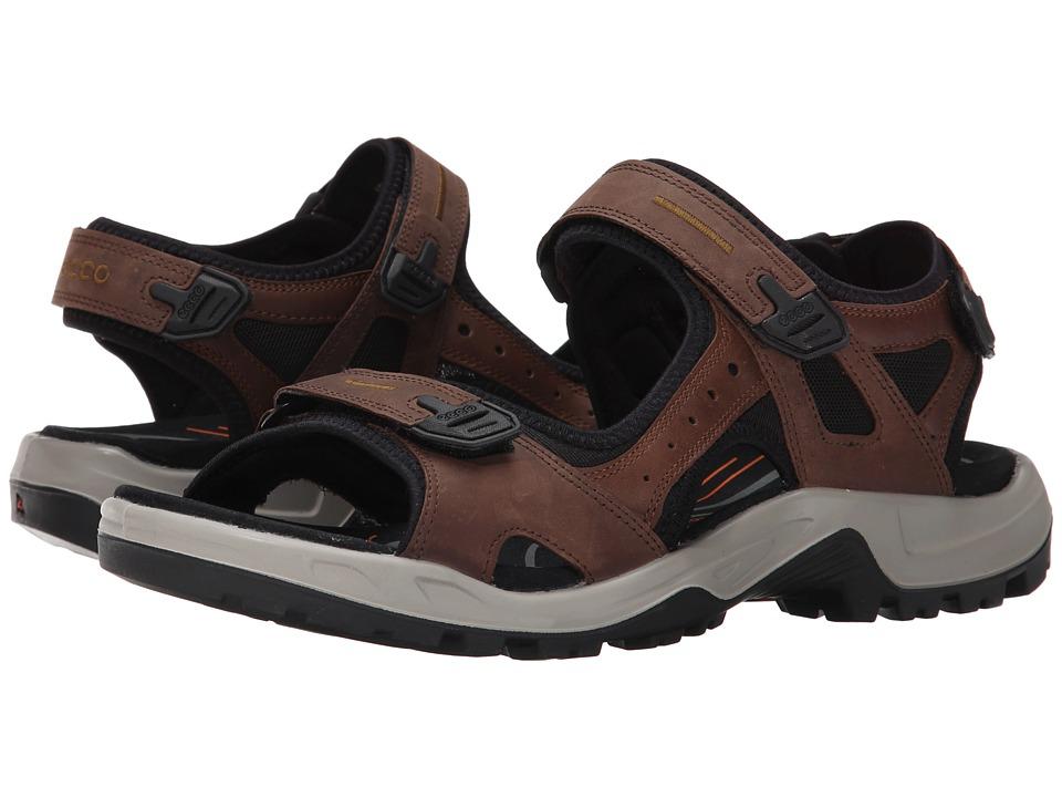 ECCO Sport - Yucatan Sandal (Espresso/Cocoa Brown/Black) Men's Toe Open Shoes