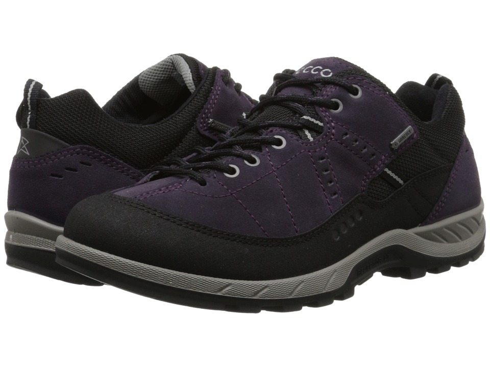 ECCO Sport - Yura GTX (Black/Night Shade) Women's Lace up casual Shoes