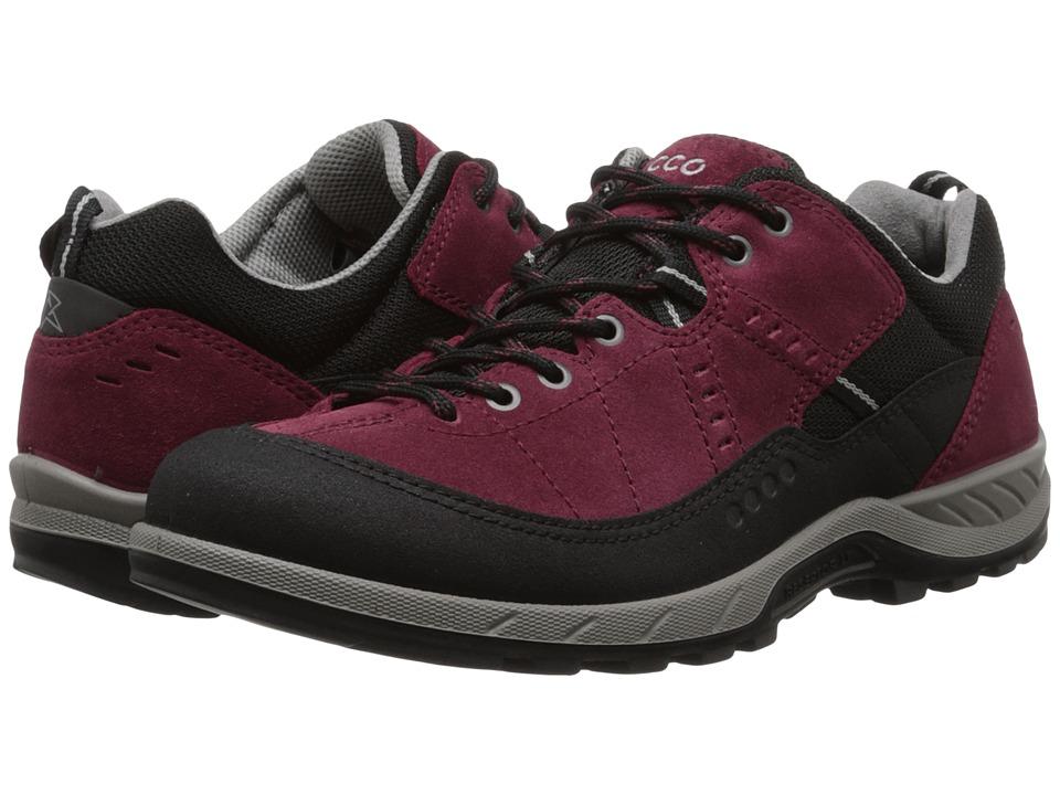 ECCO Sport - Yura (Black/Morillo) Women's Lace up casual Shoes