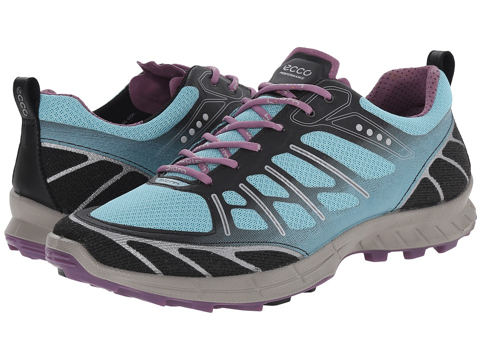 ECCO Sport - Biom Trail Sport (Black/Aquatic/Grape) Women's Shoes