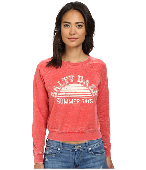 Billabong - Sunny Rays Top (Bikini Red) Women's Long Sleeve Pullover