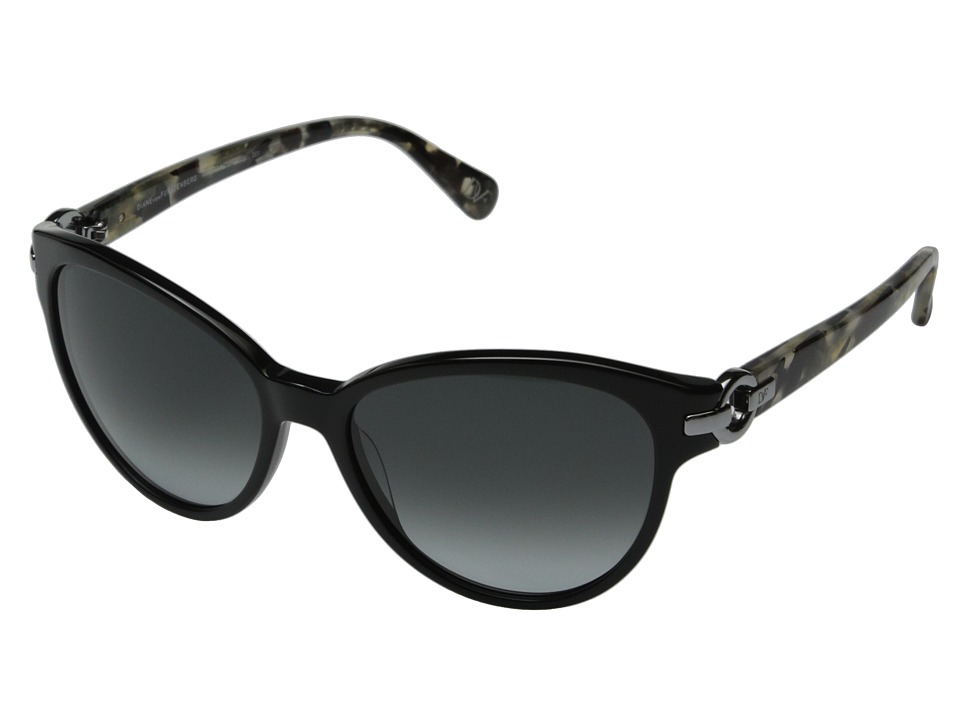 Diane von Furstenberg - Isabella (Black) Fashion Sunglasses