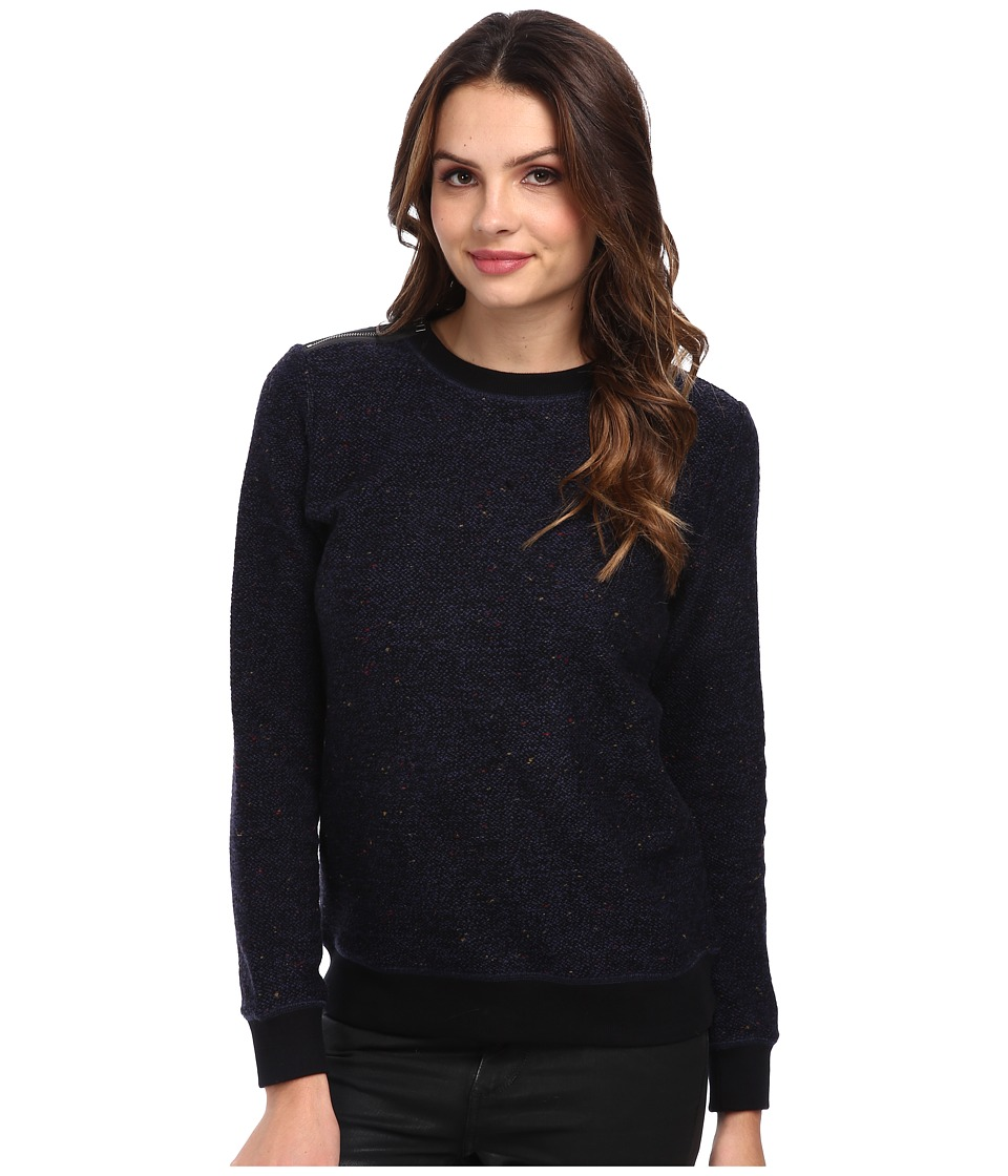 AG Adriano Goldschmied - Prey Pullover (Double Indigo/Black) Women's Sweater