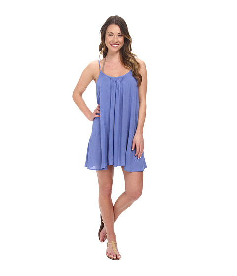 Roxy - Sweet Vida Dress Cover-Up (Chambray 2) Women's Swimwear