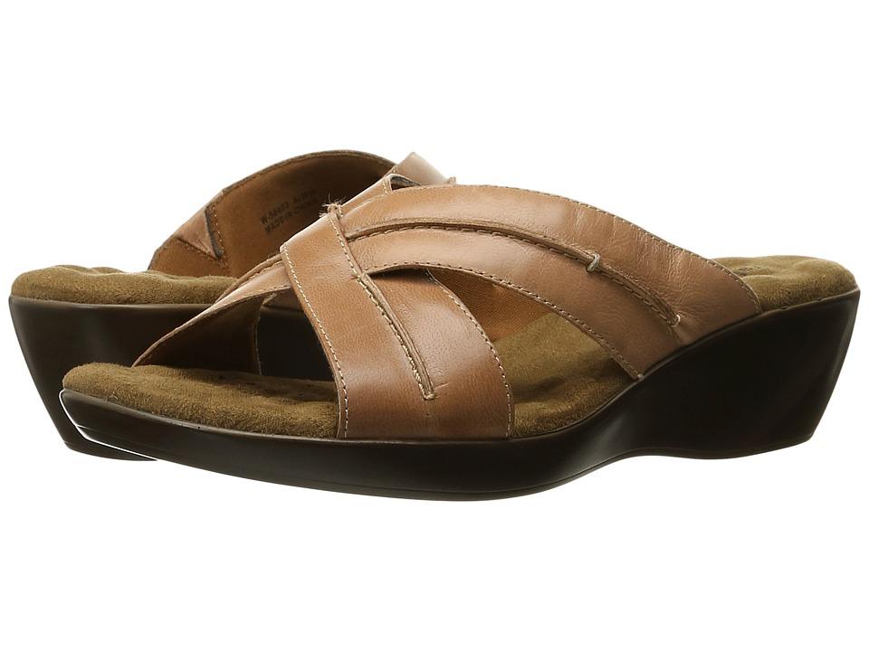Walking Cradles Chase (Tan Burnished Leather) Women