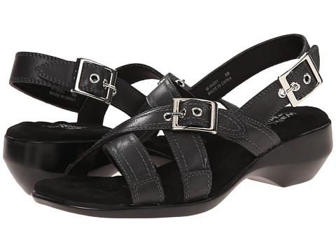 Walking Cradles - Lythe (Black Leather) Women