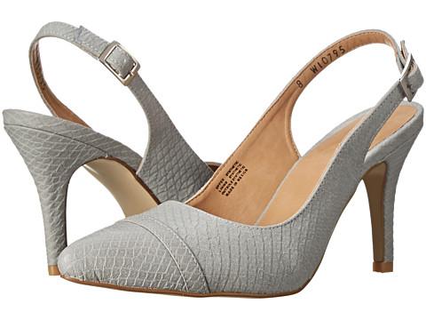 rsvp - Reggina (Grey Snake Leather) Women's Slip-on Dress Shoes