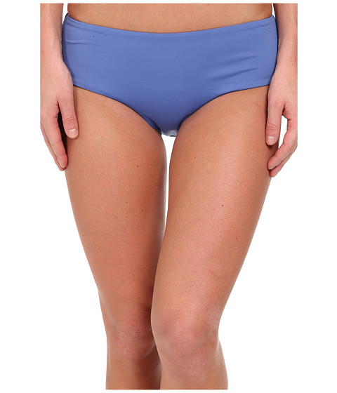 Roxy - Girls Just Wanna Have Fun Mid High Waisted Pant Bottom (Chambray 2) Women's Swimwear