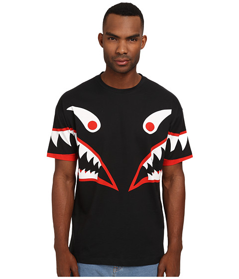 LOVE Moschino - Monster Over Fit Tee (Black Multi) Men