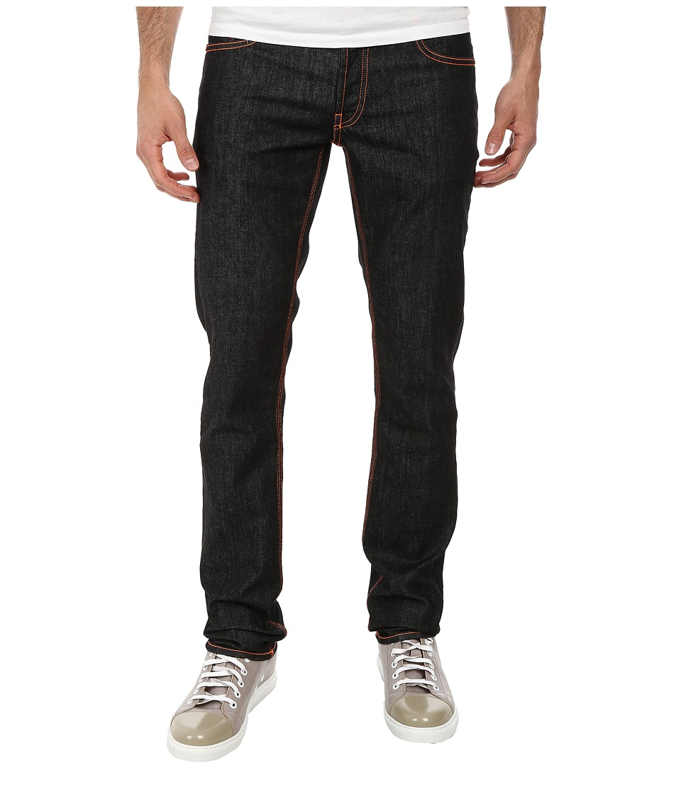 LOVE Moschino - Jeans with Colored Piping (Denim) Men's Jeans