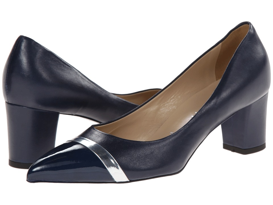 Ron White - Bonita (Navy Silver) Women's Shoes