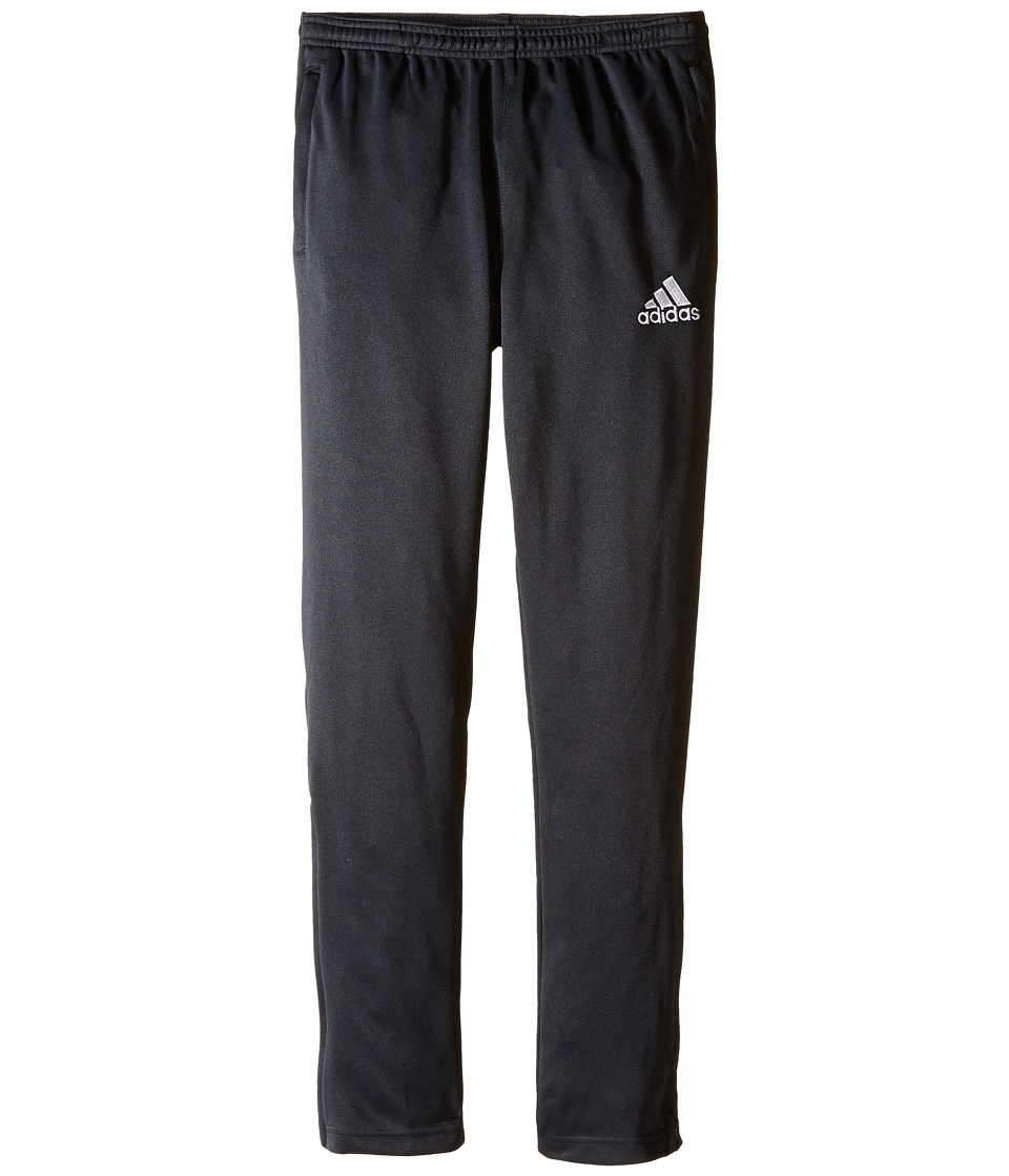 adidas Kids - Core 15 Training Pant (Little Kids/Big Kids) (Dark Grey/White) Girl's Casual Pants
