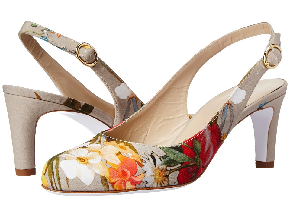 Ron White - Izabella (Nude Bouquet) High Heels