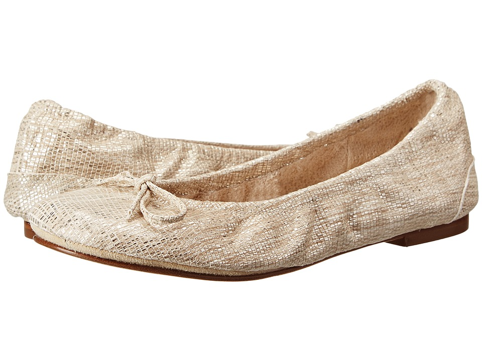 Ron White - Ilene (Champagne) Women's Flat Shoes