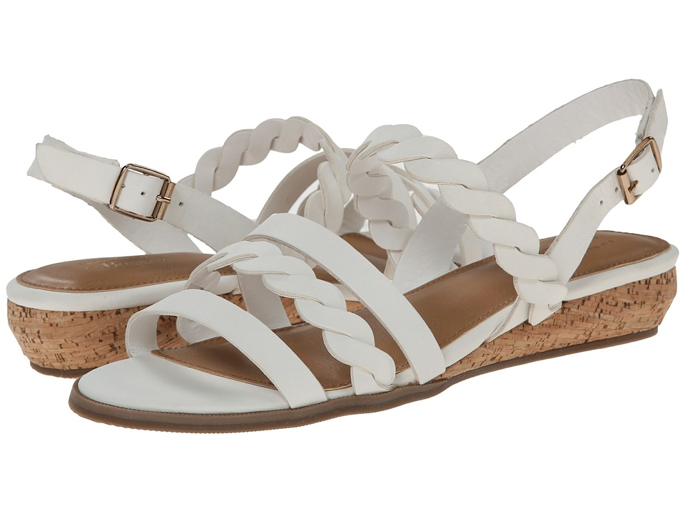 Bass - Jolie (White Nubuck) Women's Sandals