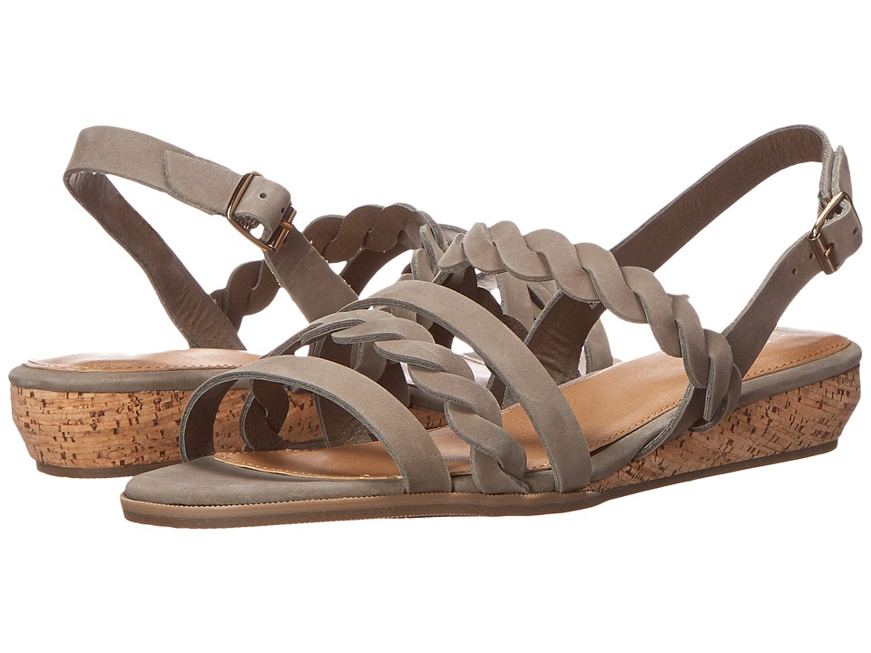 Bass - Jolie (Sea Rock Nubuck) Women's Sandals