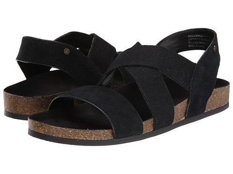 Bass - Harlem (Black Cow Suede) Women
