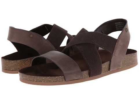 Bass - Harlem (Cocoa/Cocoa Leather/Elastic) Women's Sandals