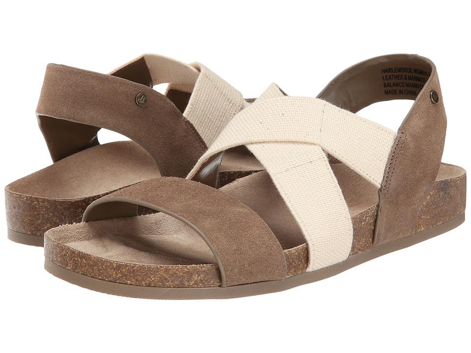 Bass - Harlem (Sea Rock Cow Suede) Women's Sandals