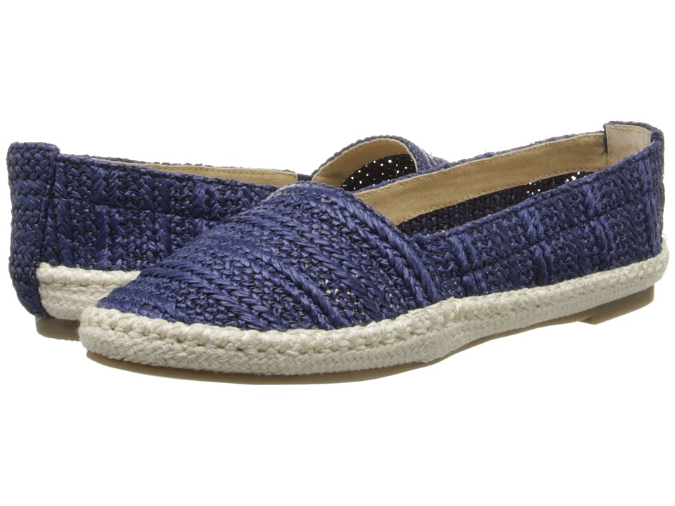 Bass - Nara (Navy Raffia Woven) Women's Sandals