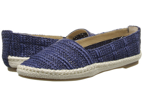 Bass - Nara (Navy Raffia Woven) Women's Sandals