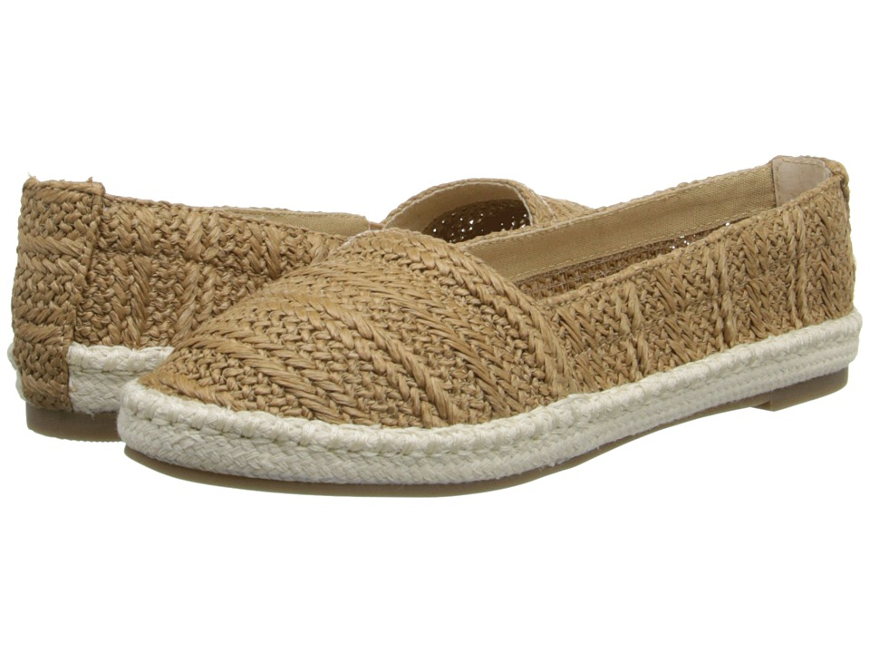 Bass - Nara (Tan Raffia Woven) Women's Sandals