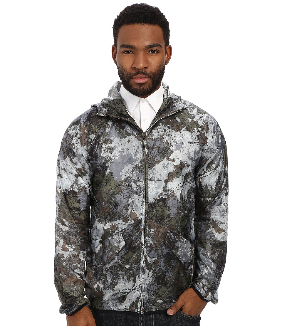 French Connection - Blossom Nylon Camo (Blossom Camo) Men's Coat