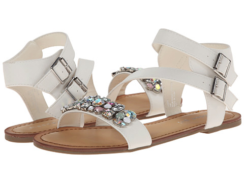 Madden Girl - Kandis (White Multi) Women's Shoes