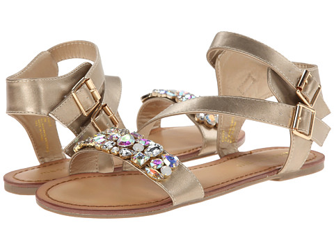 Madden Girl - Kandis (Gold Multi) Women's Shoes