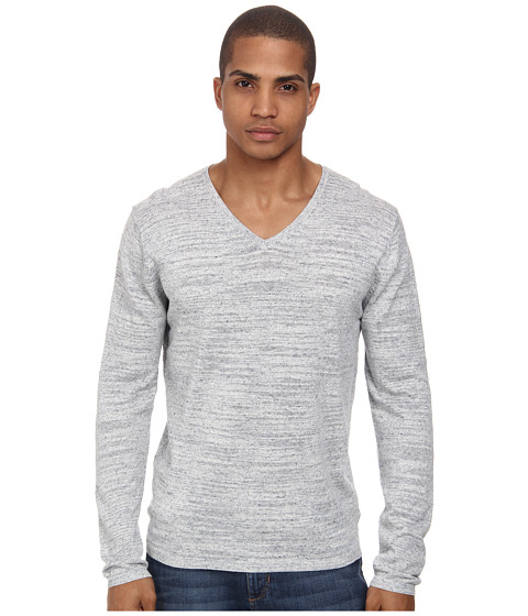 French Connection - Marlo Knits (Light Blue Mel) Men