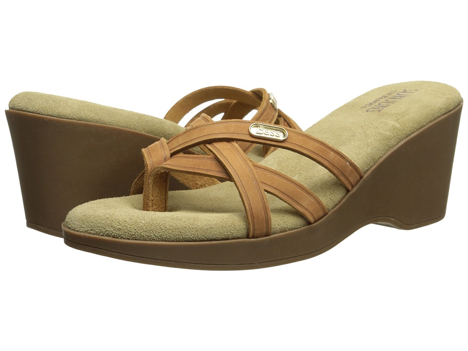 Bass - Whitley (Whiskey Nubuck Leather) Women's Sandals