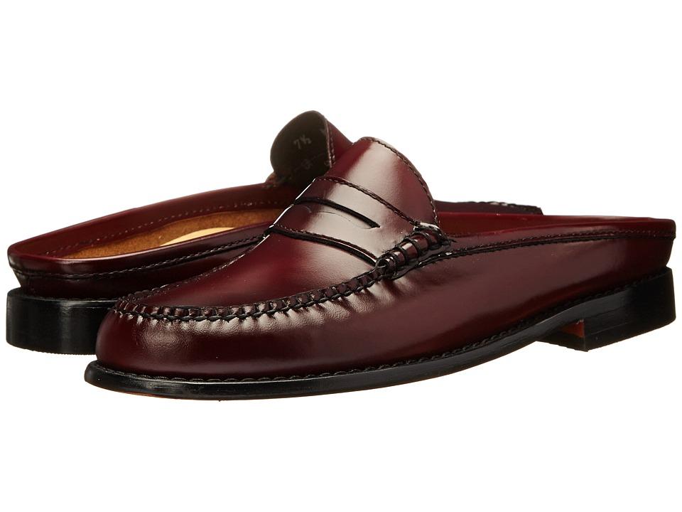Bass - Westward (Burgundy Soft Box Leather) Women's Sandals