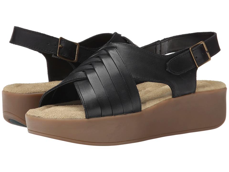 Bass - Sadie (Black Cow Kroner Leather) Women's Sandals