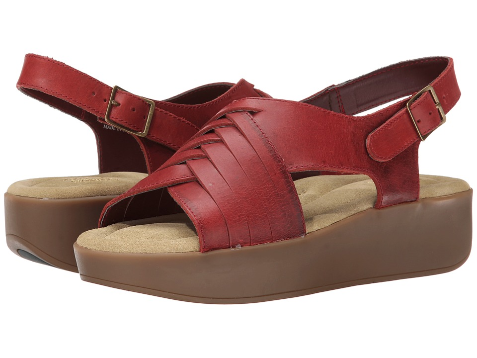 Bass - Sadie (Oxcblood Leather) Women's Sandals