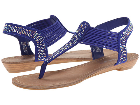 Madden Girl - Teager (Blue Fabric) Women's Shoes