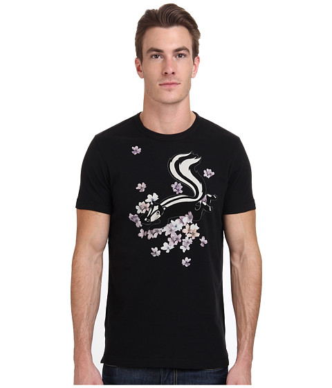 French Connection - Skunk Tee (Black) Men's Short Sleeve Pullover
