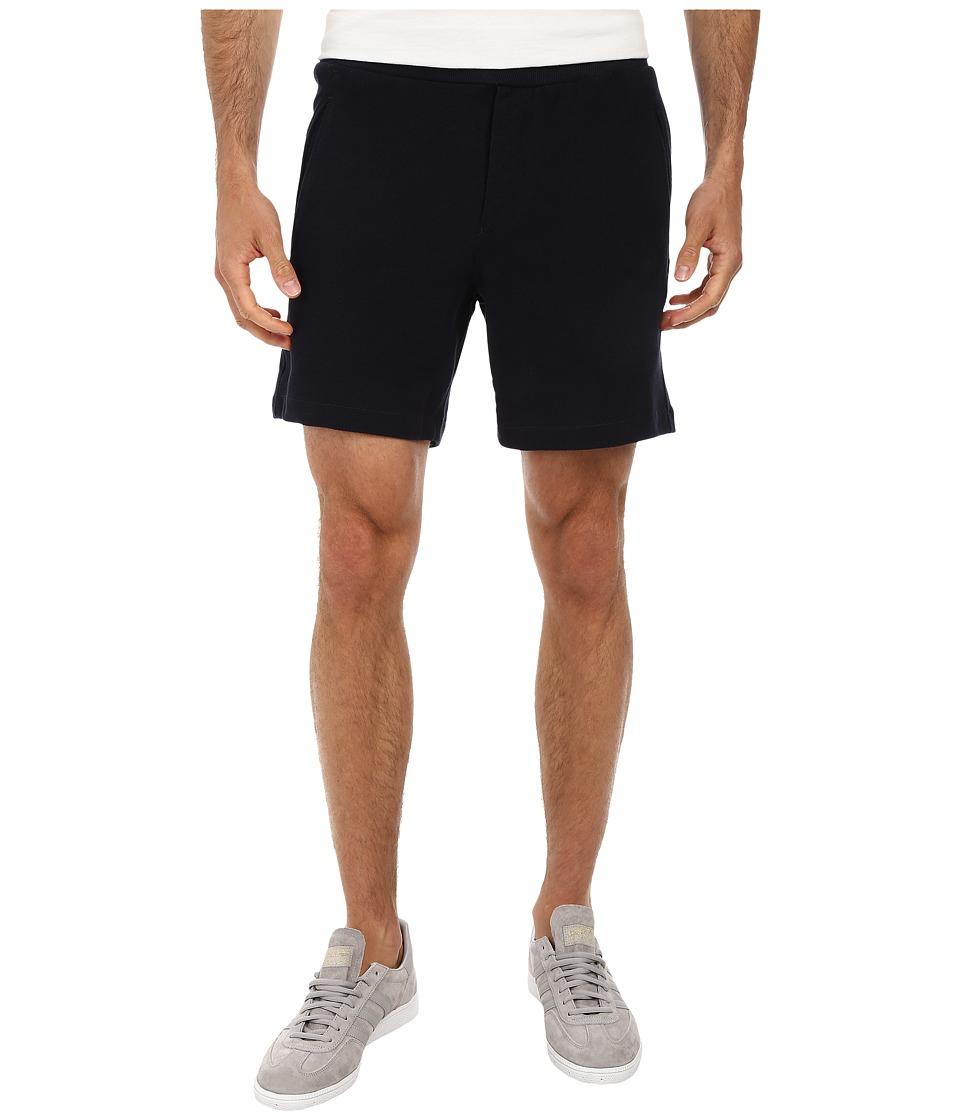 French Connection - Savannah Pique (Marine Blue) Men's Shorts