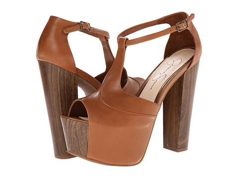 Jessica Simpson - Dany (Burnt Umber Mari Buff) High Heels