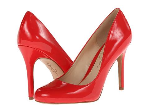 Jessica Simpson - Rachel (Aruba Coral Patent) High Heels