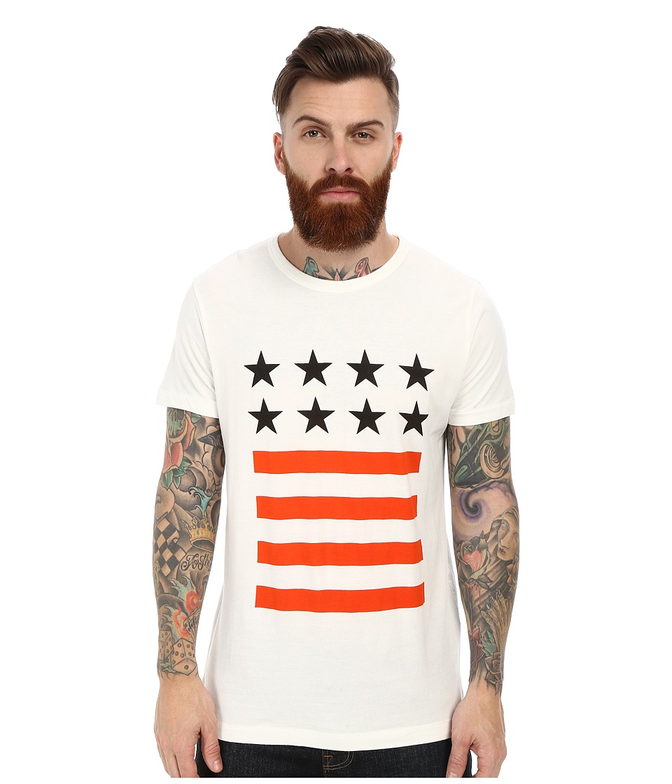 French Connection - Stars and Stripes (Cuba White) Men